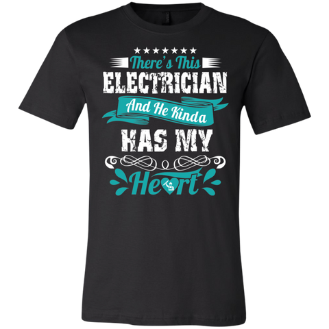 There's this electrician and he kinda has my heart  T-Shirt