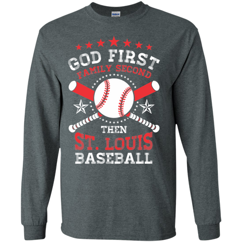 Dont Let the Pretty face fool you I am a beast on the field I Play Baseball LS Cotton Tshirt