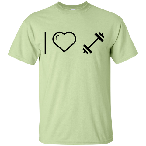 I heart Dumbells  T-Shirt