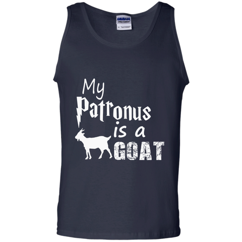 MY PATRONUS IS A GOAT 100% Cotton Tank Top