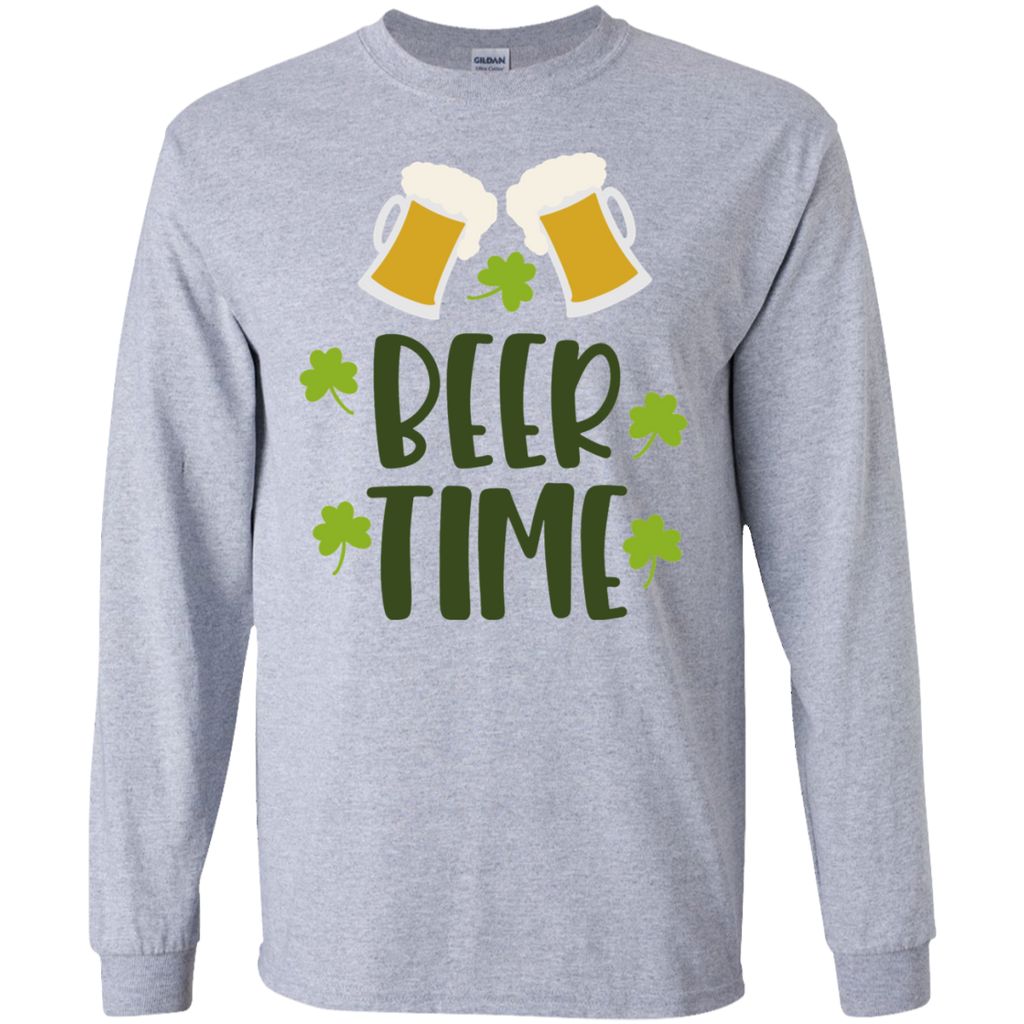 Beer Time  LS   T-Shirt
