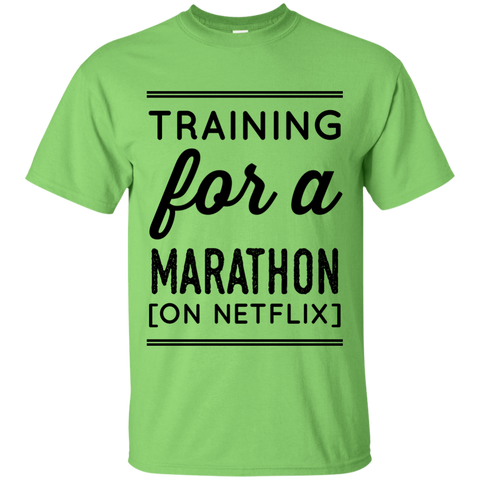 Training for a marathon ( on netflix)  T-Shirt