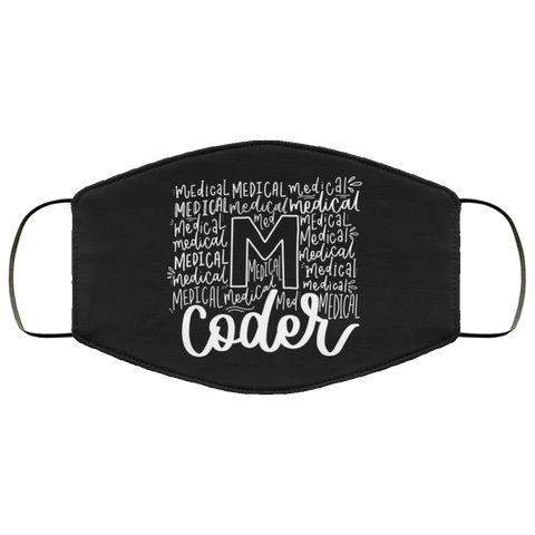 Medical coder words  Face Mask