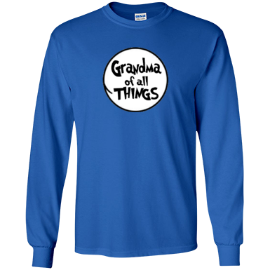 Grandma of All Things LS Ultra Cotton Tshirt