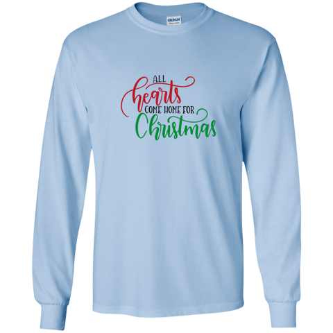 all hearts come home for christmas LS Tshirt