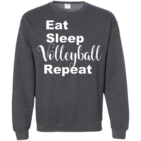 Eat Sleep Volleyball Repeat Sweatshirt