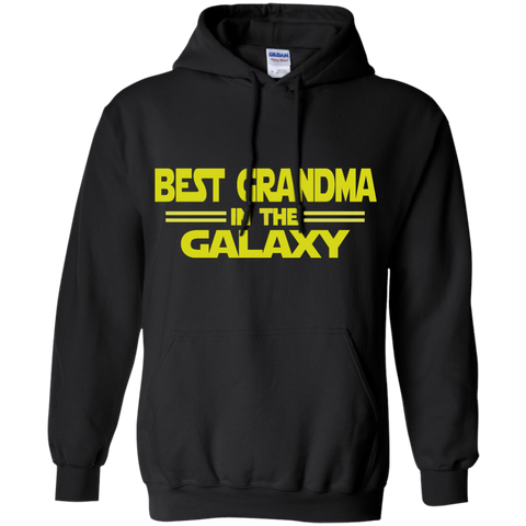 Best Grandma in the Galaxy Pullover Hoodie 8 oz