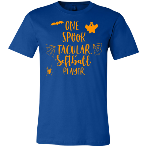One spook tacular softball player T-Shirt