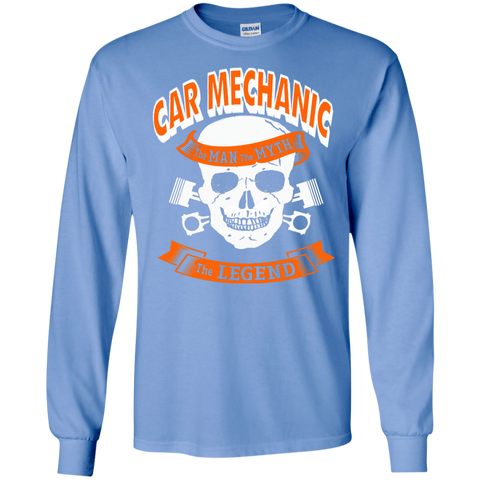 Car Mechanic The Man The Myth The Legend  LS Tshirt