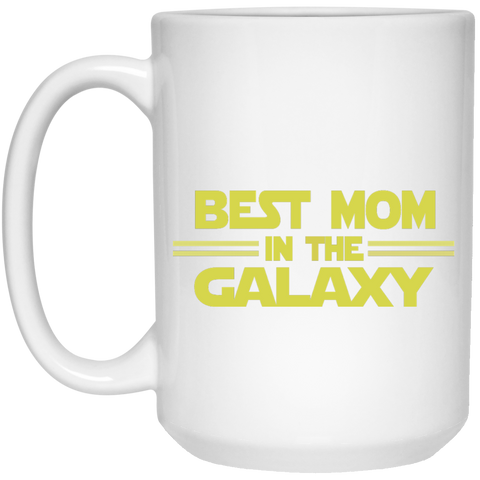 Best  Mom in the Galaxy Mug - 15oz