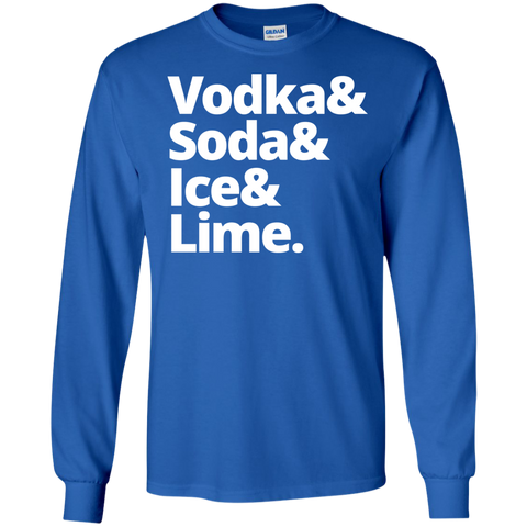 Vodka & Soda & Ice & Lime Ultra Cotton Tshirt