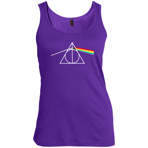 DARK SIDE OF THE HALLOWS  Scoop Neck Tank Top