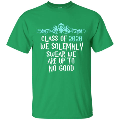 Class of 2020 We Solemnly Swear We Are Up to No Good ver2 Cotton T-Shirt