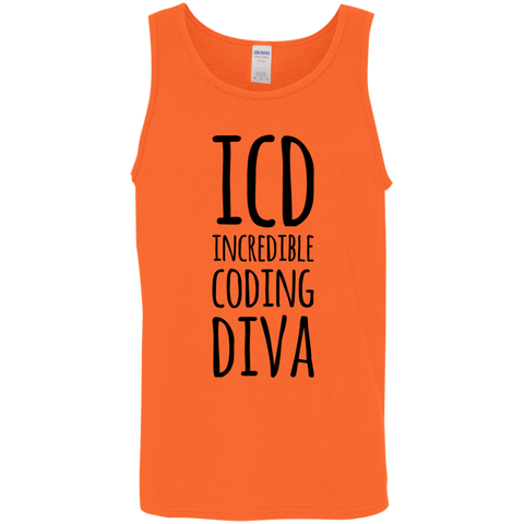 ICD Incredible Coding Diva Tank Top