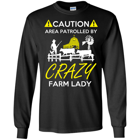 Crazy Farm Lady   Ultra Cotton Tshirt