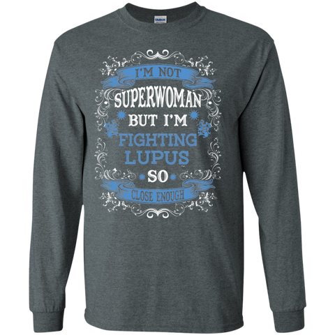 Not Superwoman but Fighting Lupus Ultra Cotton Tshirt