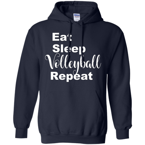 Eat Sleep Volleyball Repeat  Hoodie