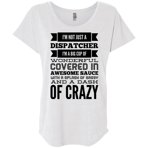 Not just a Dispatcher  Dolman Sleeve