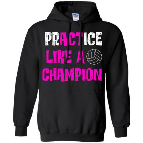 Act like a champion Pullover Hoodie 8 oz.