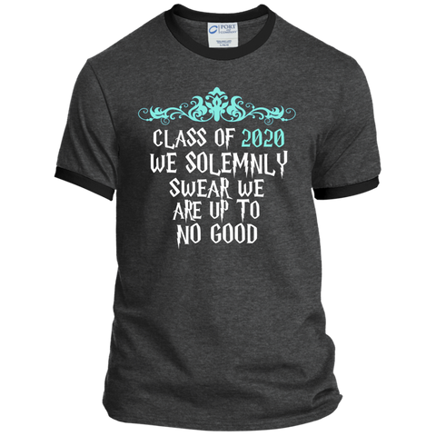 Class of 2020 We Solemnly Swear We Are Up to No Good ver2 Ringer Tee