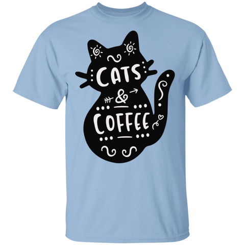 Cat and Coffee T-Shirt
