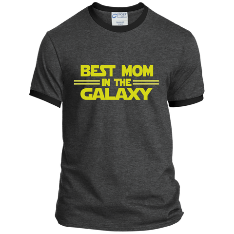 Best Mom in the Galaxy Ringer Tee