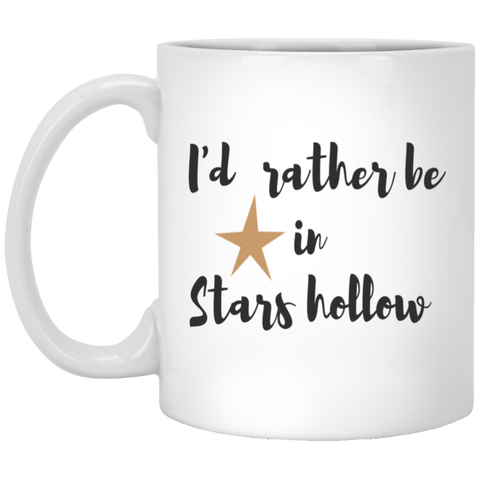 I'd rather be in stars hollow   Mug