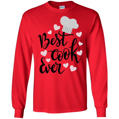 Best Cook Ever LS Tshirt