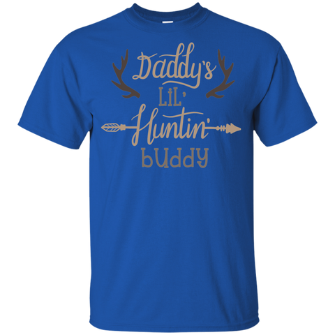 Daddy's Lil Huntin' Buddy Youth Tshirt