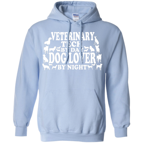 Veterinary Tech by Day Dog Lover by Night Hoodie