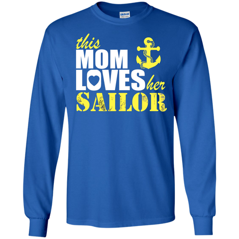This Mom Loves her Sailor  Tshirt