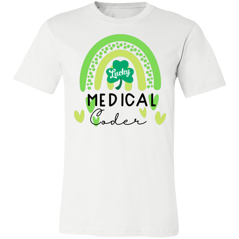 Lucky Medical coder  T-Shirt