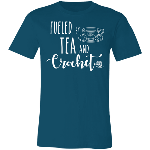 Fueled by Tea and Crochet  T-Shirt