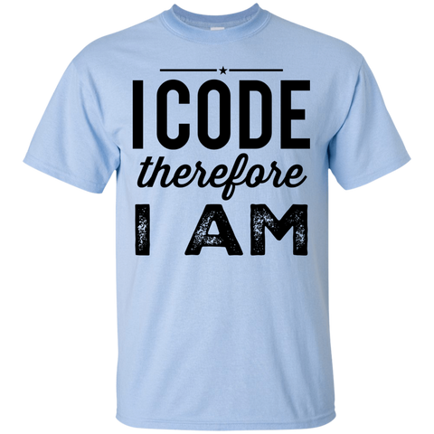 I Code therefore I am  T-Shirt
