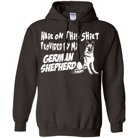 Hair on this shirt provided by my German Shepherd Hoodie 8 oz