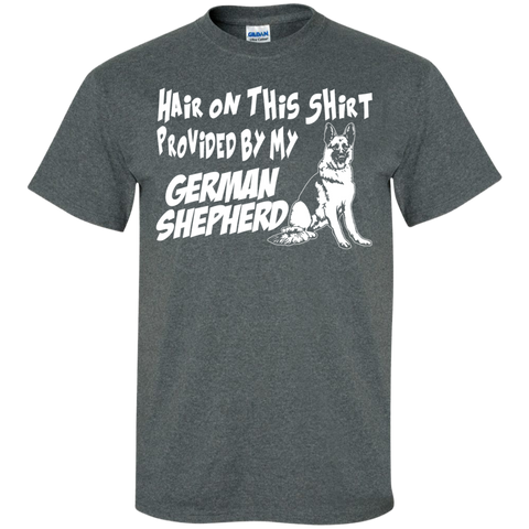Hair on this shirt provided by my German Shepherd T-Shirt