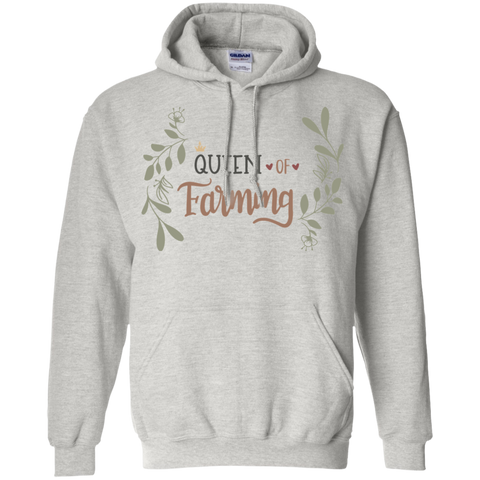 Queen of Farming  Hoodie
