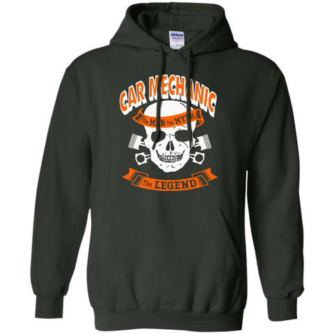 Car Mechanic The Man The Myth The Legend  Hoodie