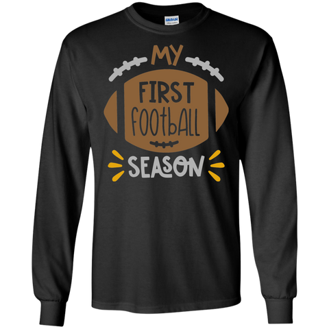My First Football  LS Tshirt