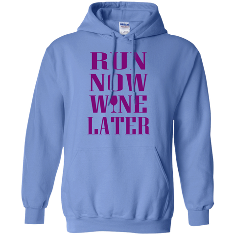 Run Now Wine Later Hoodie 8 oz