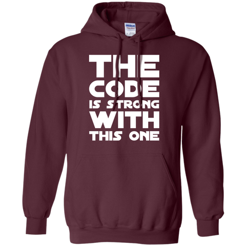 The Code is strong with this one   Hoodie