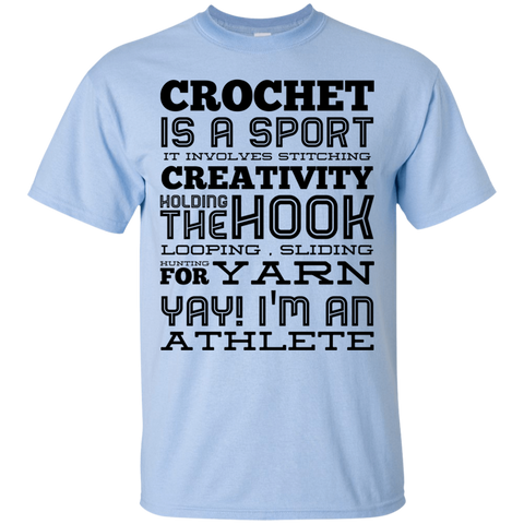 Crochet is a sport  Poems  T-Shirt