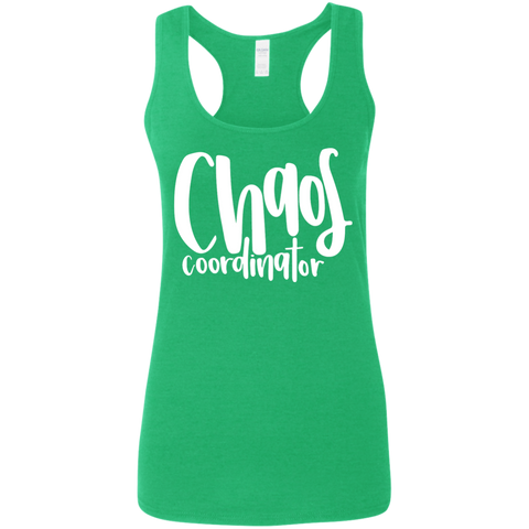 Chaos Coordinator   Softstyle Racerback Tank