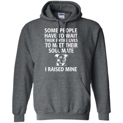 Some people have to wait their entire lives to meet their soul mate I raised mine  Hoodie