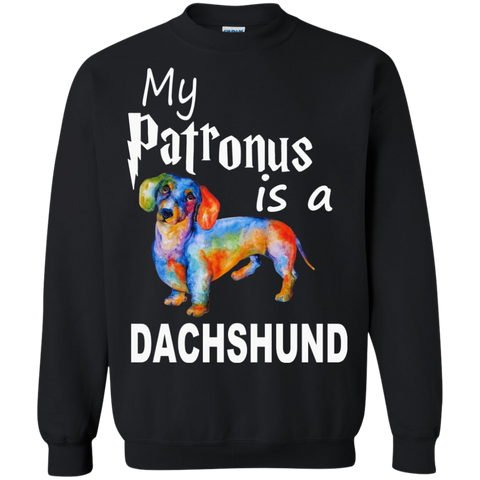 My Patronus is a Dachshund  Sweatshirt  8 oz