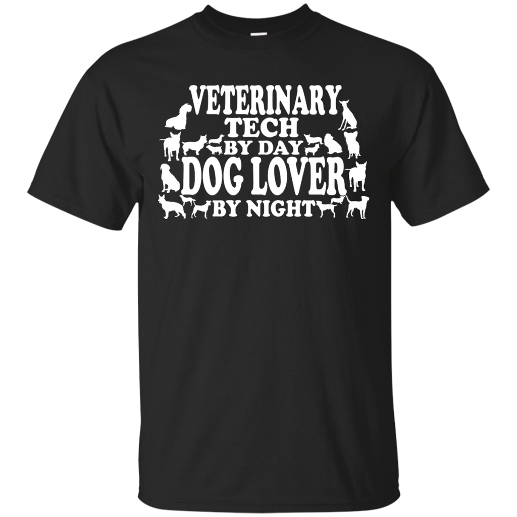 Veterinary Tech by Day Dog Lover by Night  T-Shirt
