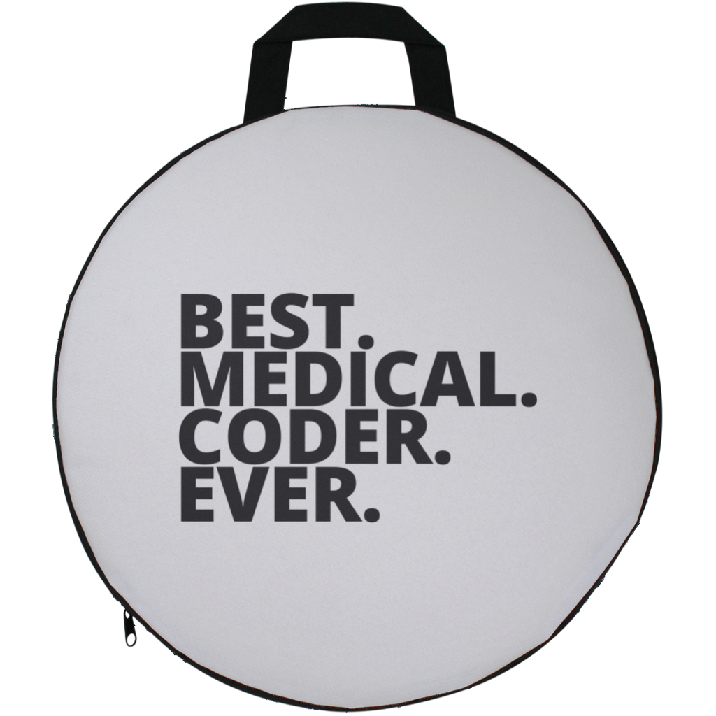 Best. Medical. Coder. Ever .  Round  Seat Cushion