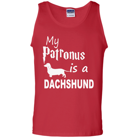 My Patronus is a Dachshund Cotton Tank Top