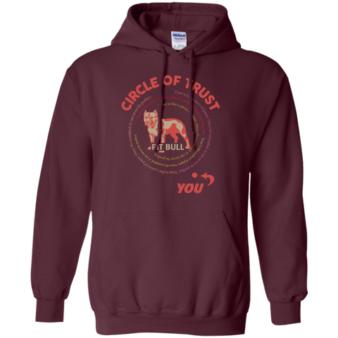Circle of trust Pit Bull   Hoodie