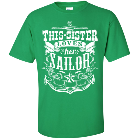 This Sister Loves Her Sailor  T-Shirt